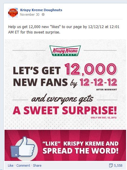 krispy kreme marketing strategy