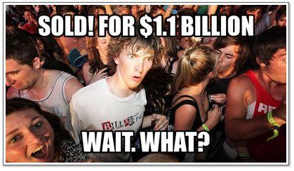 Yahoo buys Tumblr $1.1 billion